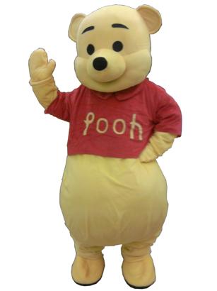 Noleggio Mascotte Winnie th pooh