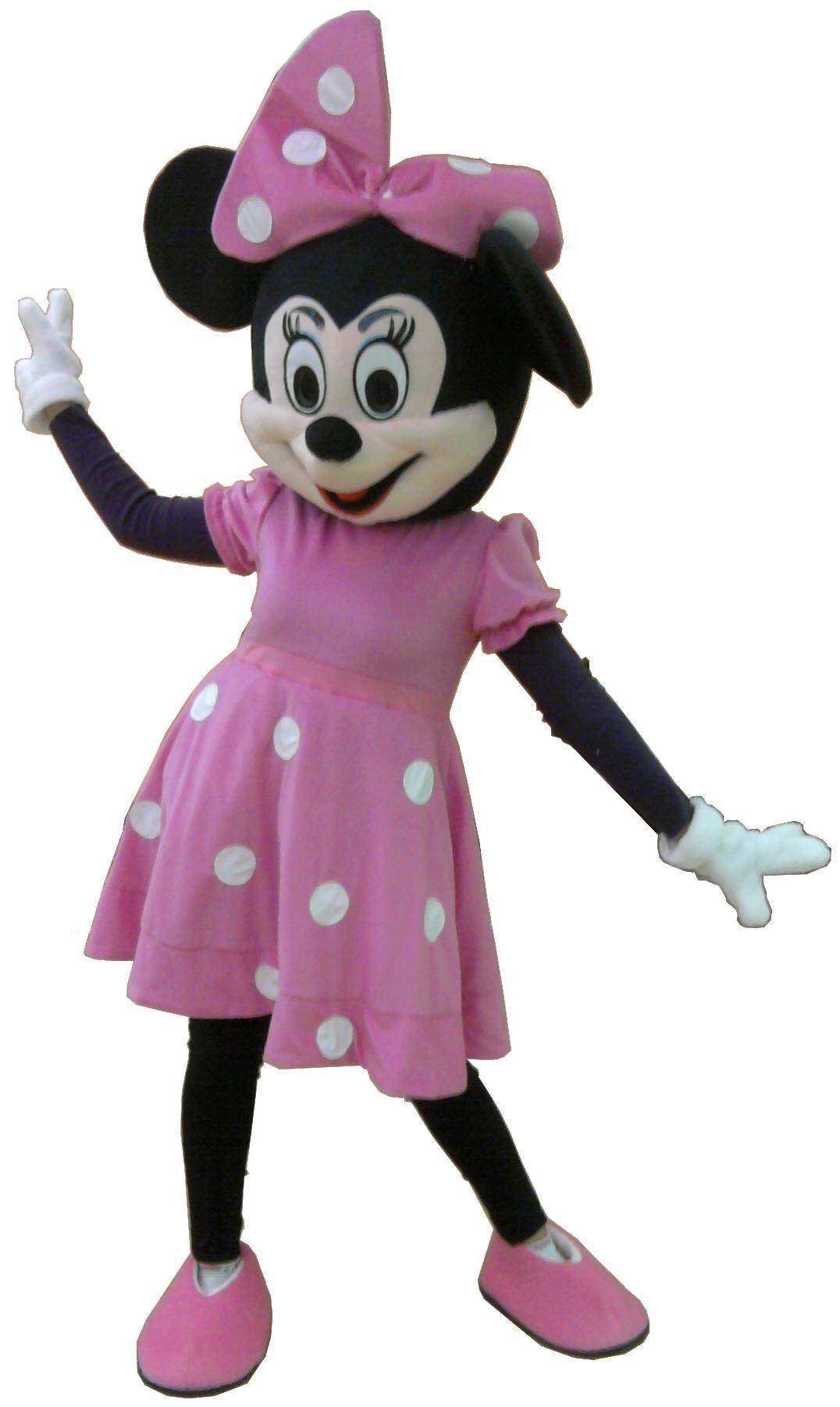 Noleggio Mascotte Minnie